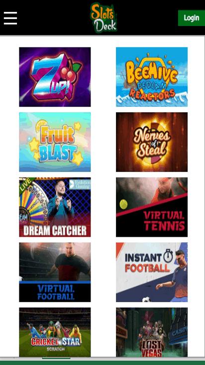 slotsdeck game