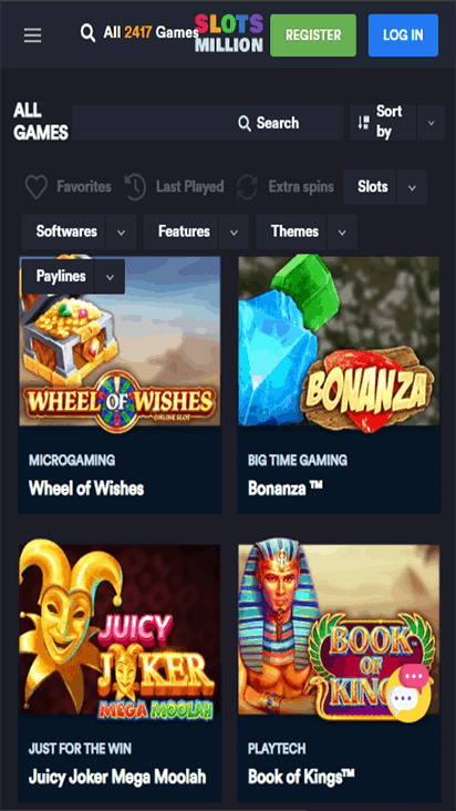 slotsmillion game