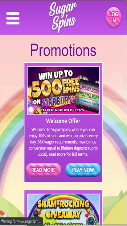 sugarspins promo