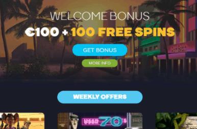 wild tornado casino front image